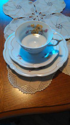 Vintage Weimar Porcelain Tea Set by Gondara on Etsy