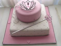 beautiful cake for the birthday princess!