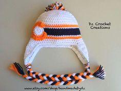Crochet Denver Broncos Colorado Flag Inspired by HandMadeByDz