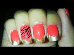 Zebra Nails Tutorial