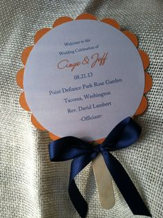 50 diy wedding fans program fans do it yourself kit beach floral items similar to inch wedding program fan round with three layers custom to your colors on etsy see more diy wedding program fans solutioingenieria Image collections