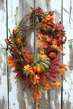 Sweet Something Designs: Fall Wreath