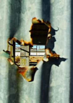Abandonment: Industrial Building - Mojave, California