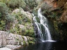 Kromriver Waterfall                Limietberg Nature Reserve    Boland