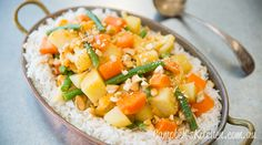 Thai- style vegetable curry