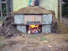 Een zelfgemaakte houtoven, hoe bouw je dat? Diy Pizza Oven, Outdoor Decor, Home Decor, Homemade Home Decor, Interior Design, Home Interiors, Decoration Home, Home Decoration, Home Improvement
