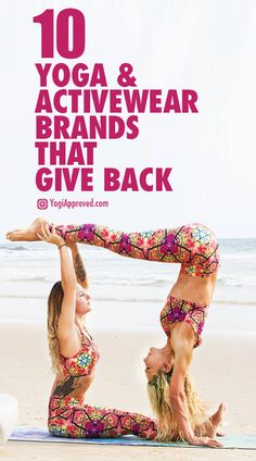 10 Amazing Activewear and Yoga Brands that Give Back When You Buy