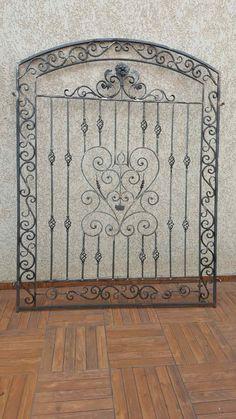 Wrought Iron Garden Gates, Wrought Iron Decor, Iron Doors, Iron Windows, Iron Window Grill, Iron Gate Design, Window Grill Design, Iron Steel, Railing Design