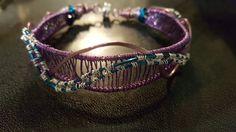 Wire wrap bracelet Wire Wrapped Bracelet, Wire Wrapping, Cuff Bracelets, Jewelry Making, Jewellery, Jewelery, Jewellery Making, Jewlery, Bangles