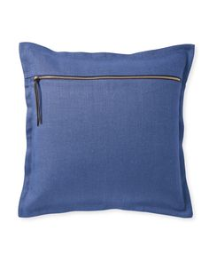 Two Tone Zip Pillow Cover - Serena & Lily