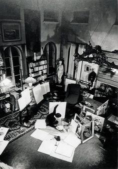 Tove Jansson in her atelier and studio in Helsinki. Tove Jansson, Moomin Books, Miss Moss, Rose House, Art Studios, Artist At Work, Illustrators, Helsinki, Art Photography