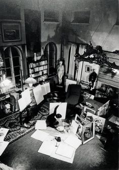 Tove's studio. Someday Tove Marit will go and see.