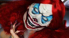 Until Dawn Clown Makeup Tutorial