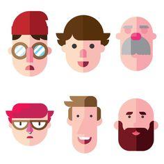 character flat - Pesquisa Google