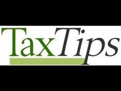 It Works Global Tax tips 2013