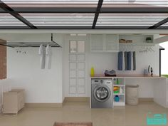 Outdoor Laundry Rooms, Small Laundry Rooms, Laundry Room Layouts, Laundry Room Design, Interior Design Living Room, Living Room Decor, House Awnings, Philippines House Design, Laundry Room Lighting