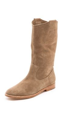 Joie Ogden Flat Suede Boots $295