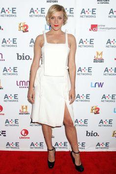 Fabulously Spotted: Chloe Sevigny Wearing Christopher Kane - A+E Networks 2013 Upfront - http://www.becauseiamfabulous.com/2013/05/chloe-sevigny-wearing-christopher-kane-ae-networks-2013-upfront/