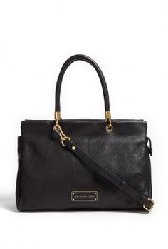 Black Too Hot To Handle Tote Bag by Marc by Marc Jacobs