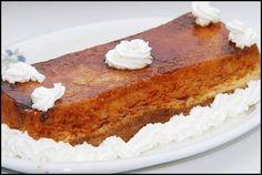 Flan de coco al microondas Creme Caramel, Microwave, French Toast, Cheesecake, Pie, Simple, Breakfast, Desserts, Food
