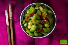 Bób smażony po tajsku | Złota Proporcja | Kuchnia tajska | Przepisy