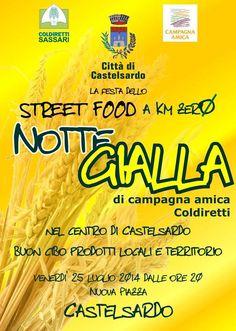 LA NOTTE GIALLA – CASTELSARDO – VENERDI 25 LUGLIO 2014