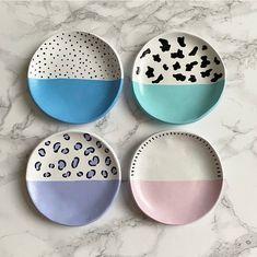 Ceramic Clay, Ceramic Painting, Ceramic Pottery, Pottery Art, Clay Art Projects, Ceramics Projects, Polymer Clay Crafts, Diy Clay, Pottery Painting Designs