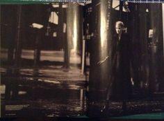 Deel 2 analyse - Magazine Vogue: Grote afbeeldingen over heel de spread of over heel de pagina, veel zwart/wit, maar ook in kleuren.