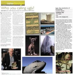 'Ugly' author Stephen Bayley talks to New Design magazine about all things ugly, and beautiful.