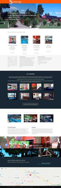 Sitio realizado en Wordpress Desktop Screenshot, Wordpress, Buenos Aires, Argentina, Mar Del Plata, Page Layout, Web Design