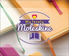Logotipo desenvolvido para Blog mylovelymoleskine