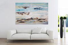 Öl Gemälde 'Grenzenlos frei' 180x120cm