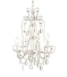 Romantic Crystal Chandelier [CMW-291269] - $169.00 : The Painted Cottage, Vintage Painted Furniture