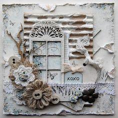Ingrid's place: xoxo card