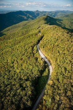 Blue Ridge Parkway, southern Appalachia