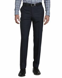 Etro Gingham Paisley Long-Sleeve Shirt & Plaid Pants - Neiman Marcus