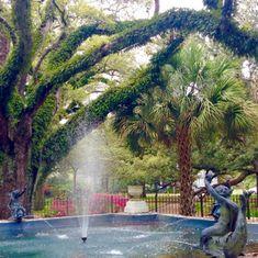 Oakleigh's Washington Square, Mobile, Alabama