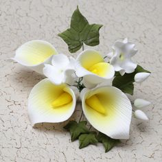 6 Small Mix Sprays Combo 2 Gum Paste Flowers Flower Making Fondant Flowers
