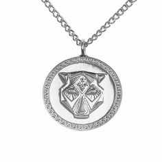Rio 2 Necklace Silver | Alexa de Castilho | Wolf & Badger