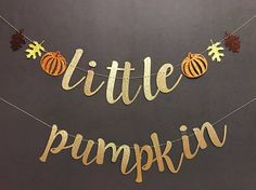 little pumpkin baby shower banner, Fall baby shower banners, fall baby shower, gold glitter banners, fall baby shower decorations - Baby shower ideas - - Otoño Baby Shower, Baby Shower Drinks, Fiesta Baby Shower, Baby Shower Brunch, Baby Shower Cupcakes, Baby Shower Themes, Baby Shower Fall Theme, October Baby Showers, 2nd Baby Showers