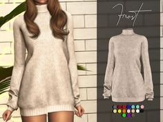The Sims 4 mody do gry: Sukienka Frost od Benevolence-c Sims 4 Mods Clothes, Sims 4 Clothing, Sims 4 Game Mods, Sims Mods, Vêtement Harris Tweed, Sims 4 Tsr, Sims 4 Anime, The Sims 4 Cabelos, The Sims 4 Pc