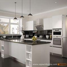 OP15-Villa01: Modern White Villa Home Furniture
