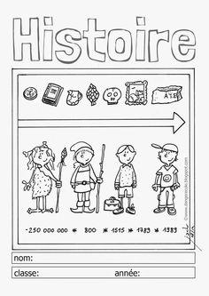 danger école: affichages utiles en vrac Couvertures de cahier danger école Jack