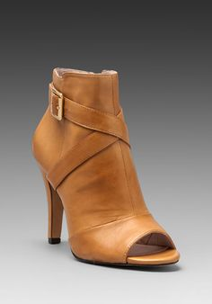Vince Camuto Kina Boootie in Caramel