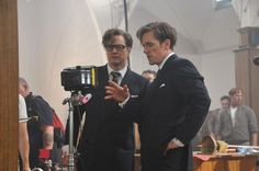 Colin Firth's double: Being a 'Kingsman' hurts