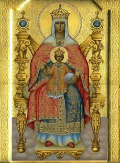 Greek Icons, Orthodox Icons, Yoga, Virgin Mary, Our Lady, Princess Zelda, Painting, Fictional Characters, Art