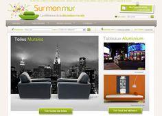 SurMonMur : Boutique de Décoration Murale - tableaux, toiles murales, stickers muraux