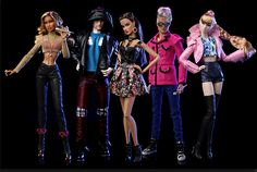 """Collecting Fashion Dolls by Terri Gold: """"In The Mix"""" Color Infusion Capsule Collection fro..."""