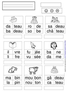 Worksheets 415527503117475515 - mots 2 – la maternelle de Camille Source by Teaching Activities, Learning Resources, Teaching Kids, French Classroom, School Classroom, Primary Education, Kids Education, French Worksheets, French Language Learning