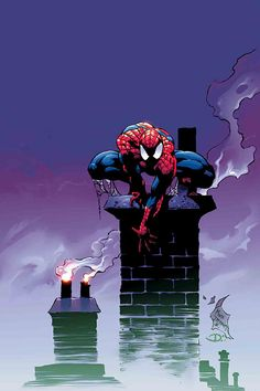 Amazing Spider man #55. Mike Deodato, Jr. Colors by Dave Kemp.